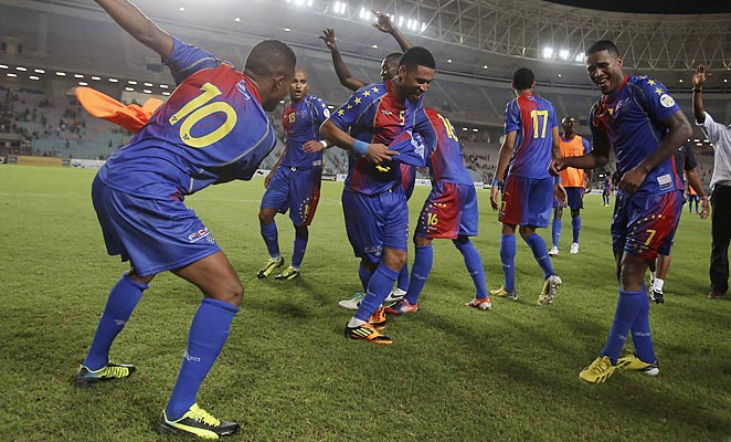 Cape Verde scored one of the biggest upsets in world soccer, knocking Tunisia out of contention for a World Cup spot.