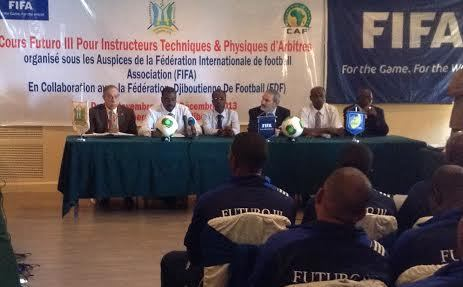 Djibouti hosts FIFA Futuro III course for Franco-African nations