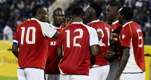 Kenya's Harambee Stars ended its 2014 World Cup qualifying campaign with 1-0 victory over Namibia