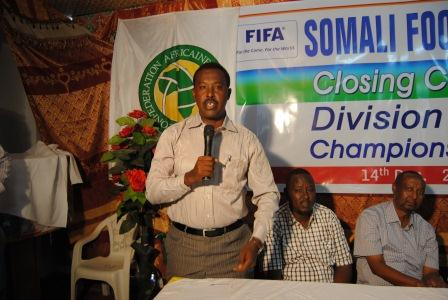 FIFA instructor arrives in Mogadishu to conduct Somalia course