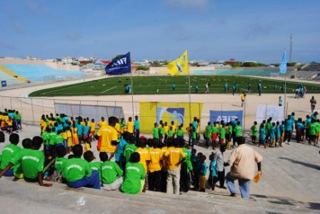 "Somalia: FIFA confirms successful ""touch the world"" initiative in Somalia"