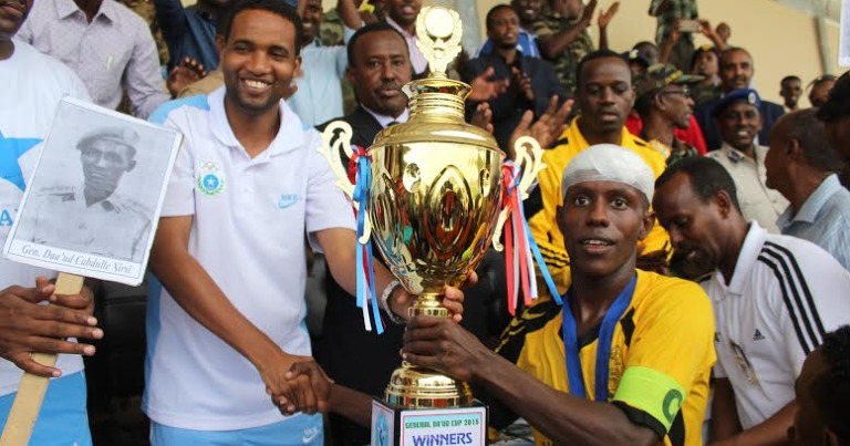 History made in Somalia as first soccer match televised