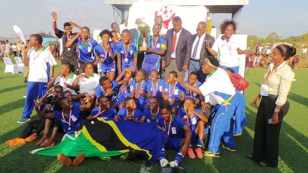 Tanzania beats Kenya's harambee Starlets to win Cecafa Women's Championship